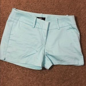 Teal size 4 mossimo shorts
